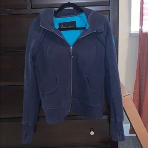 Lululemon Scuba Jacket w/ Removable Sleeves